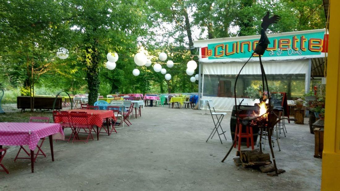 Restaurant La Guingette in Saint Denis